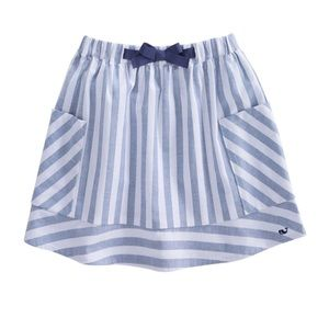 Vineyard Vines medium 10-12 coastside stripe skirt